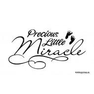 Väggtext - Precious Little Miracle