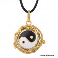 Gravidsmycke - Bola Guld Yin och Yang