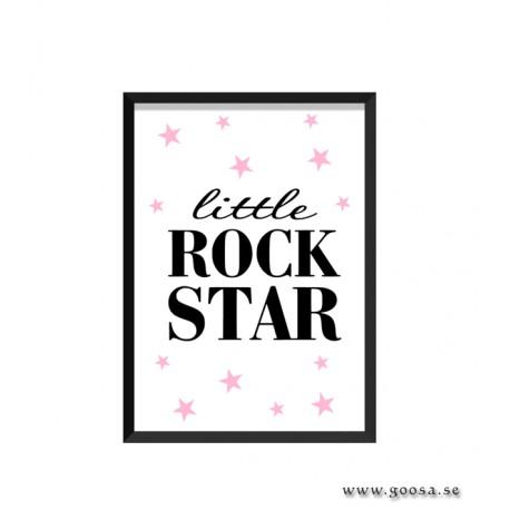 Barntavla - little ROCK STAR