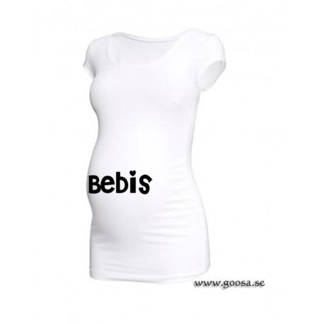 """Gravidtopp med Text """" Bebis """""""