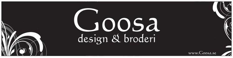 Goosa design & broderi