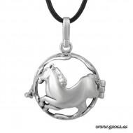 Gravidsmycke - Bola Silver Häst