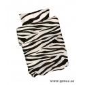 Bäddset Svart Zebra till Vagn/Vagga