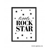 Barntavla - little ROCK STAR