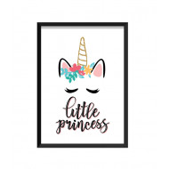Barntavla - little princess