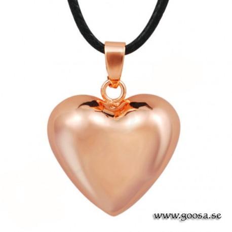 Gravidsmycke – Bola roséguldpläterad hjärtformad